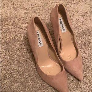 Blush heels- Steve Madden